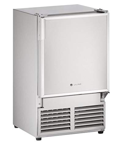 U-Line ULNSS1095NF03A Undercounter Marine Crescent Ice Maker, 15', Stainless