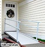 EZ-Access CSHR8 PATHWAY 8 Feet Pathway Classic Ramp With Rails