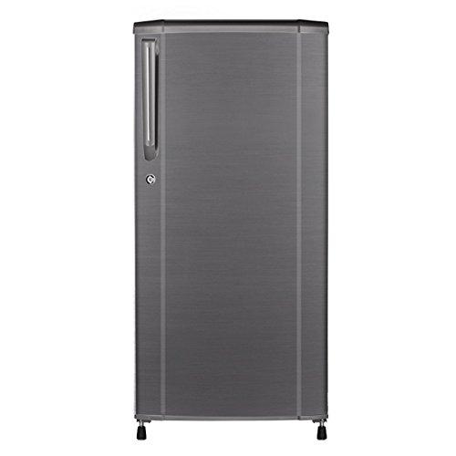 Haier Direct-cool Single-door Refrigerator (181 Ltrs, 4 Star Rating, Brushline Silver)