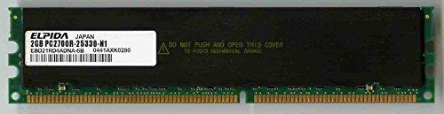 (Ebd21rd4adna-6B 2Gb Ddr 333Mhz Pc2700 184-Pin Cl2 Ecc Registered Sdra)