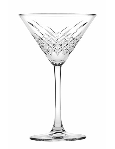 Hospitality Glass Brands 440176-012 Timeless Martini, 7.75 oz. (Pack of 12)