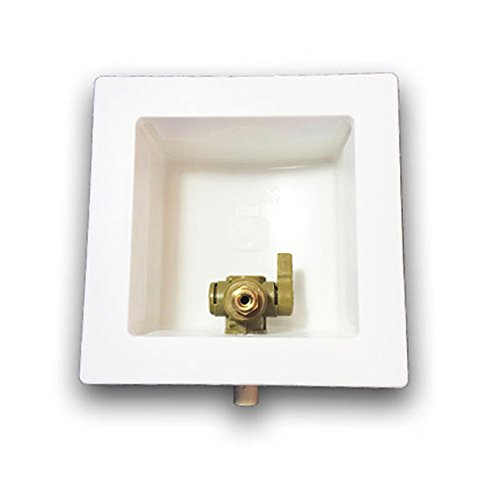 Ayrlett 3081.0 Pre-Assembled Ice Maker Boxes with CVPC Connection, Brass by Ayrlett