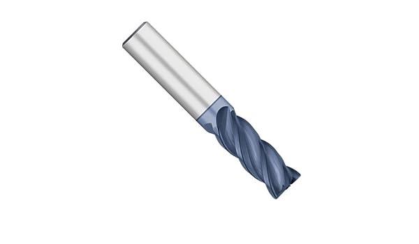"CORNER RADIUS .045 4-flutes,Regular-length 1//2/"" Carbide End Mill"