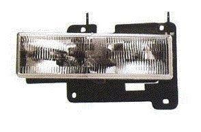 (Fits 88 89 90 91 92 93 94 95 96 97 98 Chevrolet GMC Truck Headlight DRIVER NEW 92-99 Blazer Suburban Tahoe Yukon by Not OEM)