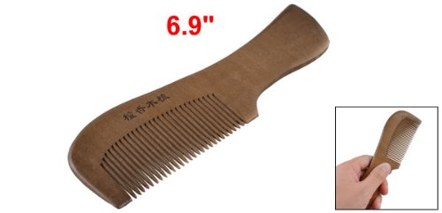 """Coffee Color Hairdressing Fragrant Natural Wood Wooden Hair Care Comb 6.9"""""""