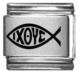 (Christian Fish Laser Italian)