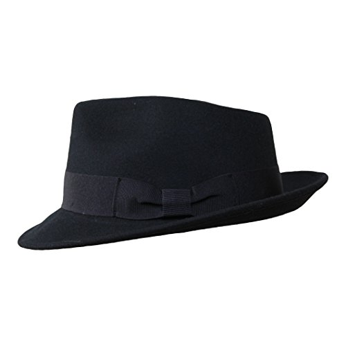 da25cd24d Borges & Scott B&S Premium Doyle - Teardrop Fedora Hat - 100% Wool ...