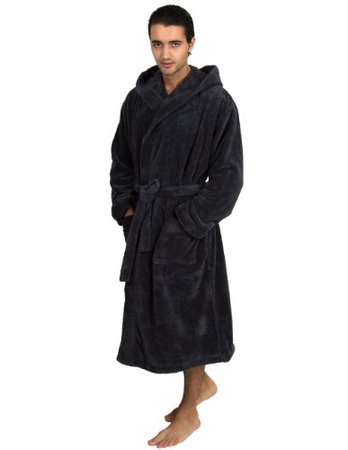 TowelSelections Fleece Hooded Bathrobe Turkey product image