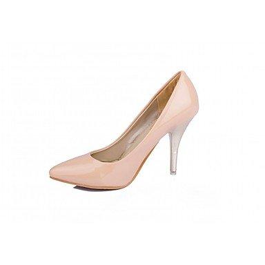 Le donne eleganti sandali SEXY DONNA PRIMAVERA tacchi cadono Comfort similpelle Office & Carriera Abito casual Stiletto Heel Nero Blu Rosso bianco Mandorli , blu , us4 / EU36 / UK3 big kids