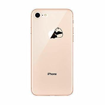coque iphone 8 transparente avec motif