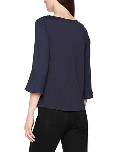 Shirt Bleu Navy Blouse TAILOR Femme Real 6593 Trendy TOM Blue Flounce wAt8qYxU