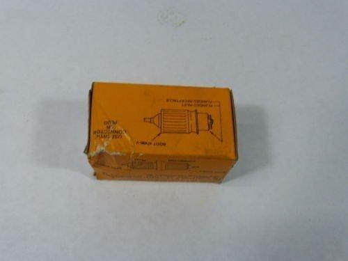 Hubbell HBL7484 Locking Connector, Midget, 15 amp, 125/250V, ()