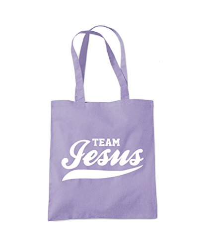 Jesus Fashion Lavender Tote Team Team Shopper Jesus Purple Bag Fqw6x