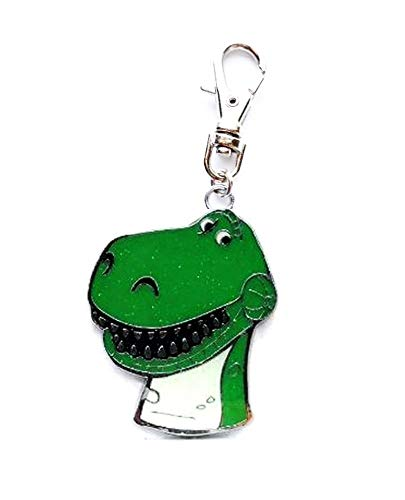 - Heavens Jewelry REX T REX T-REX Toy Story Charm Dinosaur for Zipper Pull Wallet Purse Backpack OR PET Dog CAT Collar TAG Leash ETC