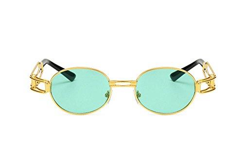soleil lunettes UV400 C7 rétro ovales protection Steampunk gothique UV de Keephen qIHwYH