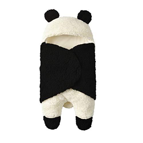 TENDYCOCO Cartoon Panda Baby Swaddle Slaapzak Kinderwagen Katoen Baby Baby Slaapdeken 55*29cm Afbeelding 1
