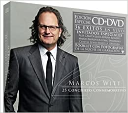 Marcos Witt CD + DVD 25 Anos Concierto Conmemorativo DVD-ROM – 2011