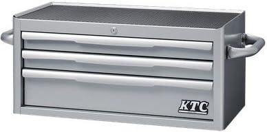 KTC フラットトップチェスト3段3引出シルバー EKR-2003 EKR-2003
