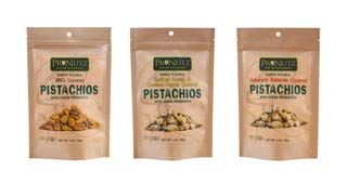 Habanero-BBQ-Smoked Gouda Variety Pack of Covered Pistachios with added Probiotics 3oz 3-Pack