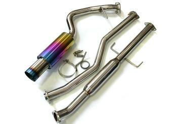(Agency Power AP-997TT-179 Exhaust (Titanium Muffler System with 200 Cell Cats Porsche 997 Turbo 07-09))
