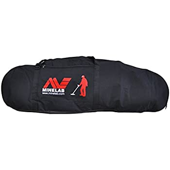 Minelab Large Black Padded Detector Carry Bag for Metal Detector