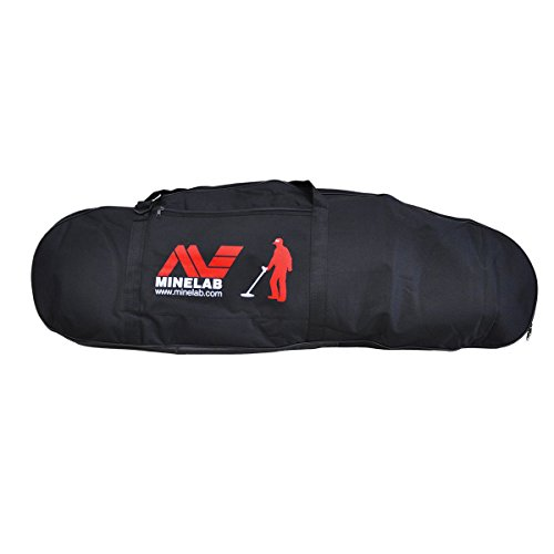 Minelab Large Black Padded Detector Carry Bag for Metal Detector