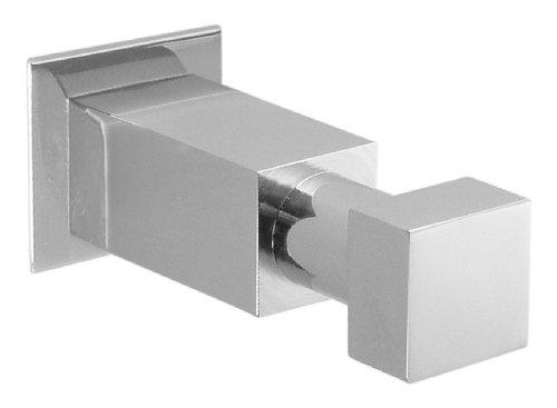 USE Square Bollard Single Hook, Polished Chrome (Use Square Bollard)