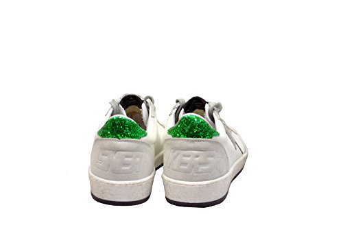 Gouden Gans Dames G32ws592f8 Witte Lederen Sneakers