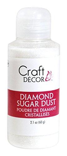 Craft Décor Glitter Craft, Diamond Sugar Dust, 60g, 1-Piece, (Craft Essentials Glitter)