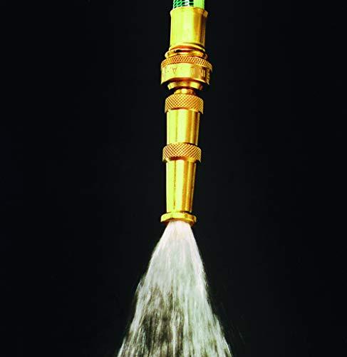 Dramm 12380 Heavy-Duty Brass Adjustable Hose Nozzle