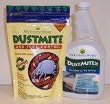 DustMite & Flea Control (8 oz) and Dustmitex (32 oz)