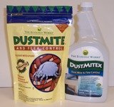 DustMite & Flea Control (8 oz) and Dustmitex (32 oz)