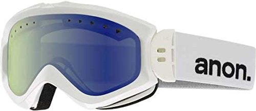 Anon Majestic Goggles White/Blue Lagoon Lens Womens