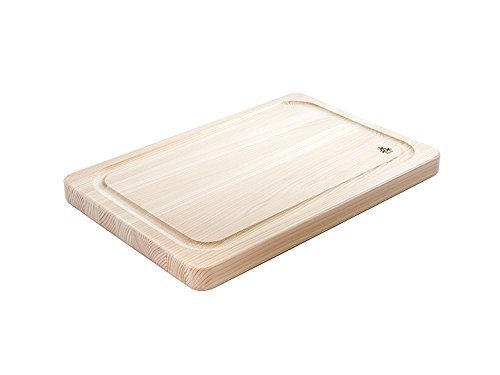 Hinoki Grooved Cutting Board Small 14 x 9.5 x 1 by TableTop King