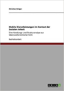 Book Mobile Dienstleistungen im Kontext der Sozialen Arbeit