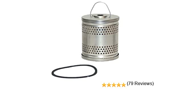Wix 51010 Cartridge Metal Canister Oil Filter Pack of 1