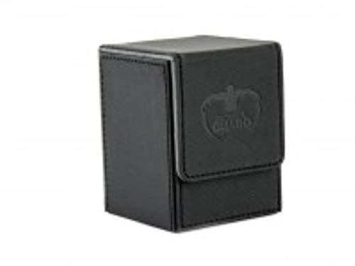 Ultimate Guard 100 Card Flip Xenoskin Deck Case, Black by Ultimate Guard