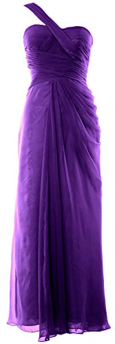 Gown Formal Morado One Evening Dress Macloth Shoulder Long Prom Wedding Party Women S4wx6qX
