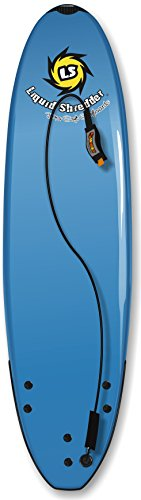 Liquid Shredder Element Soft Surfboard, 6'4'', Blue by Liquid Shredder