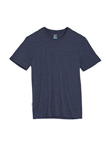 Icebreaker Men's Sphere Short Sleeve T-Shirt, Small, Admiral HTHR