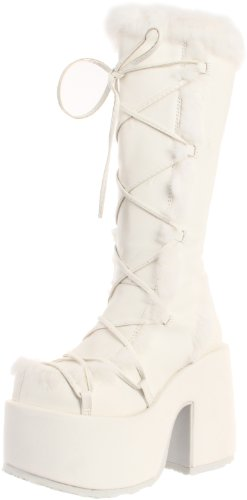 Demonia Pleaser Women's Camel-311/W/PU Knee-High Boot - W...