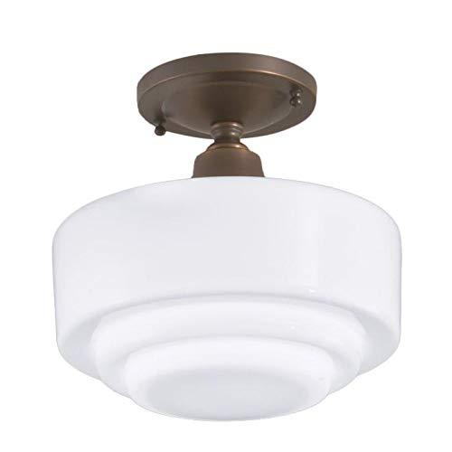 Norwell Lighting 5361 Schoolhouse - One Light Flush Mount, Choose Your Option