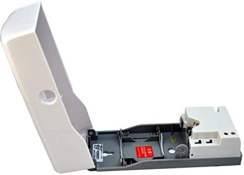HDLWIS Badezimmer-Aerosolspender, Air Freshener Dispenser Aerosol, Weiß, Long Lasting Battery Life