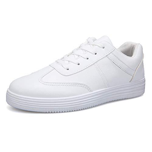 Liuxc Turnschuhe Schuhe der reinen weißen Männer des Herbstes und und und des Winters Tragen die Schuhe der zufälligen Männer der Sportwind 8f55a7