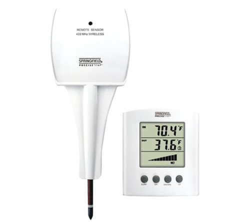 Springfield Digital Moisture Meter Freeze