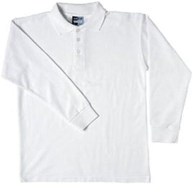 Boys Polo Camisas – Algodón y Poliéster Polo de manga larga School ...