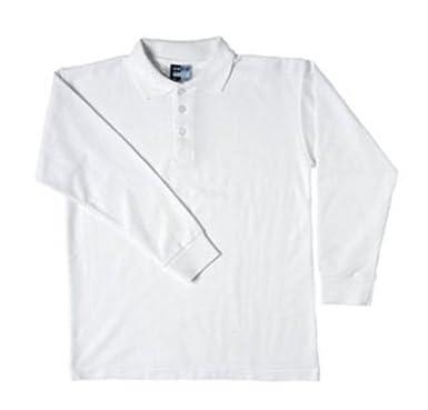 Boys Polo Camisas - Algodón y Poliéster Polo de manga larga School ...