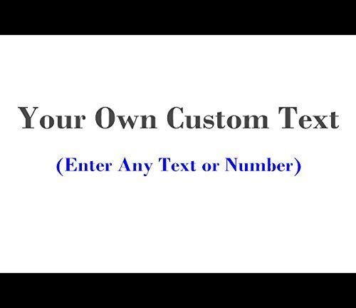 Cheap  Custom Vinyl Stickers Personalized Text or Number Vinyl Decal Sticker Letterings Quotes..