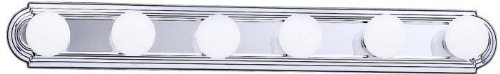 - Kichler 5018CH Linear Bath 36-Inch, Chrome