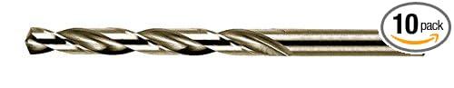 212779 Drill Bit0990 of Stainless Steel//Cobalt//Hss 3 6mm 10 Pcs
